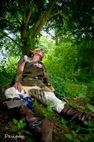 Even zombies need to rest by Bharam