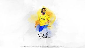 Pirlo wallpaper by Nucleo1991