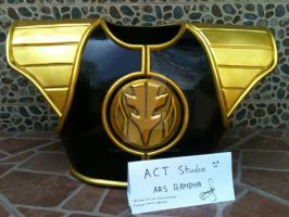 white rangers shield by actstudio65148