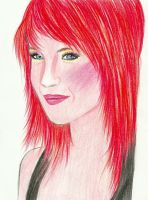 Hayley Williams by UnexpectedFantasy