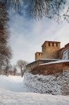 Winter fortress by tihomirmladenov