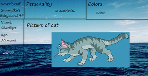WSS WaveClan-Silverflight ref. by skyclan199