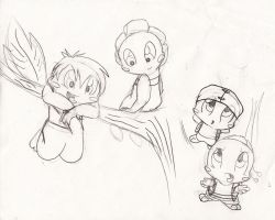 Toad Sketches by spotty-bee