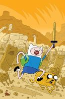 Adventure Time Comic issue 2 by KassandraHeller