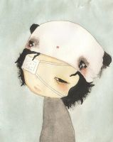 Poor Panda by PalletsArt
