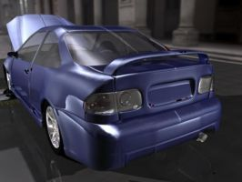 Honda Civic Rear End -wip- by crazzehtimmeh