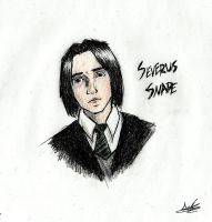 Young Severus by LunaHermione