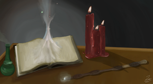 Magic Spell Book by zarbor