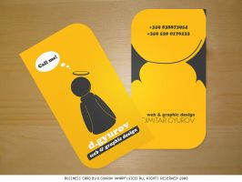 Business card by DesignersJunior