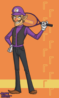 Vest Waluigi by Phageous