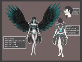 Redesign ref. sheet: SuSi by CatCleopatra