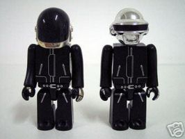 Lego Daft punk by oOMuseOo