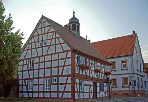 Half-timbered House: Historical Town Hall by Malintra-Shadowmoon