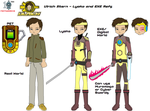 Ulrich Stern - Lyoko and EXE Refs. by SuperDigiFlow