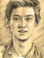 Chanyeol by AlmightyCrow
