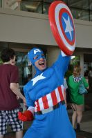 Otakon - Captain America by Shinigami-X