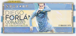 Diego Forlan pappapero pappapa by YuppoGFX