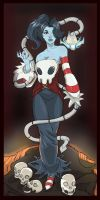 Skullgirls Squigly ( my colors) by Dericules