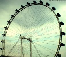 singapore flyer by kutuubocah