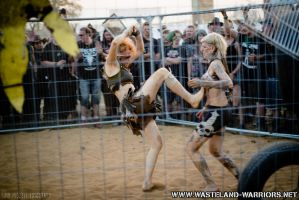 Cagefights at W:O:A 2014 by Wasteland-Warriors