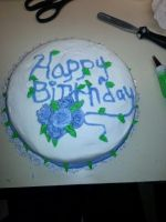 First actual sale of a decorated cake by BoxFullofWeirdness