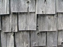 Silvered Wooden Shingles by SweetSoulSister