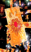 The Sun Tarot Card by vacation-challenge