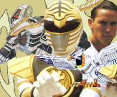 white ranger tribute by fullfurian