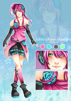 Contest entry: Savi-chan design by kimbolie12