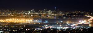 San Francisco at night by KARCEN