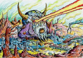 Legacy of Unicron by JoeTeanby