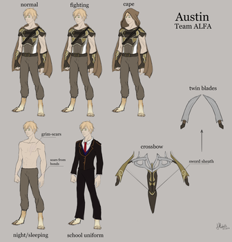 Austin Reference by BlackFireDeath