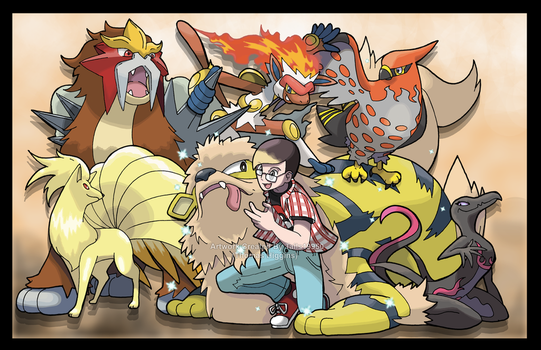 Commission - Stevie's Pokemon Team by Tails19950