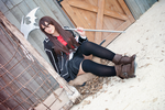 'Yuuki Cross' Vampire Knight Cosplay by CrazyMonkey87