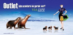 Via/Life outdoor advertising 5 by caginoz