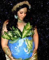 Mother Earth BodyPainting 3 by mutilatedgothchild