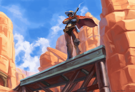 Overwatch: High Noon Animated by rou-tan