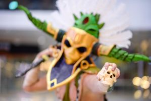 Witch Doctor - Want my skull? Take it from me then by Sizvahstar