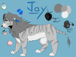 Jay Reference by FoolsCourage