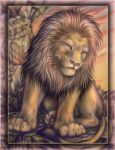 The lion UPDATED by OmegaLioness