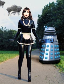 The Maid And The Dalek Invasion Of Earth! by Shiny-Fan
