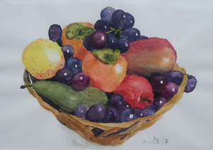 Cornucopia of Fruit (cropped version) by JacksonChen