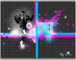 Usher 'The King' by inmany