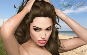 Angelina Jolie by the2slayers