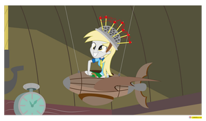 Derpy Hooves - Equestria girls - slice of life by CoNiKiBlaSu-fan