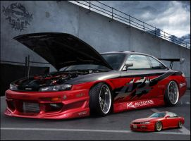 nissan silvia tokyo drift by inferno-87