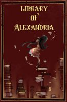 Library oF Alexandria Comic by redsheis
