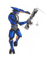 Gunspin - by Illogical-Lynx by Spartan-II-Project