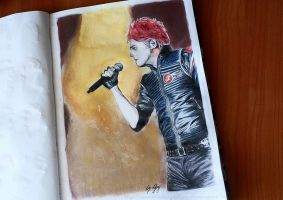 Gerard Way 2 by mrsxbenzedrine