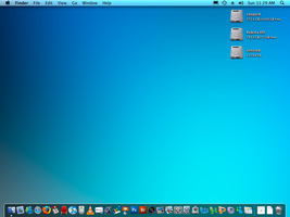 Mac OS X DESK 2 by rubina119